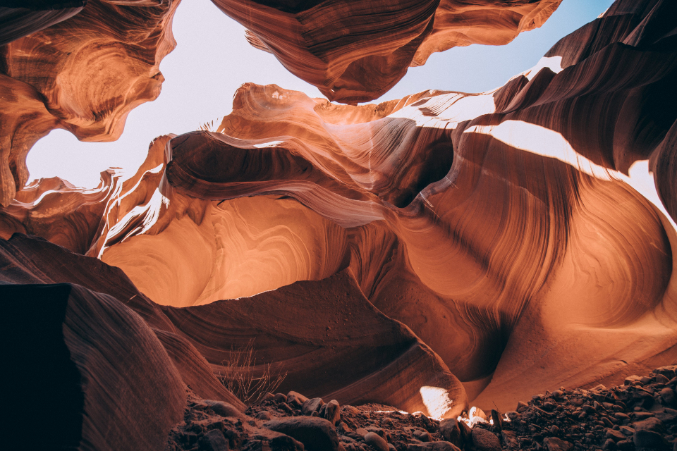 Free stock photo of canyon sandstone