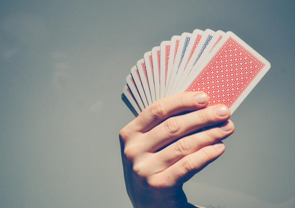 cards hands poker