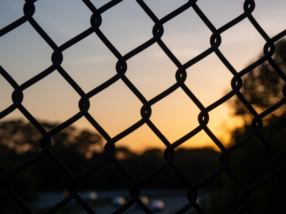 chain fence link