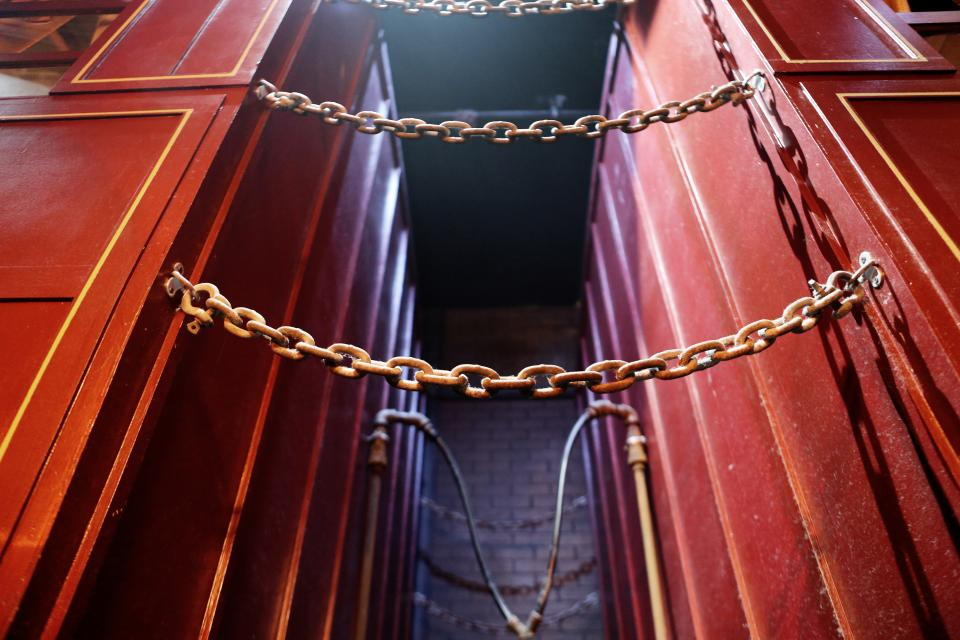 Free stock photo of chains links