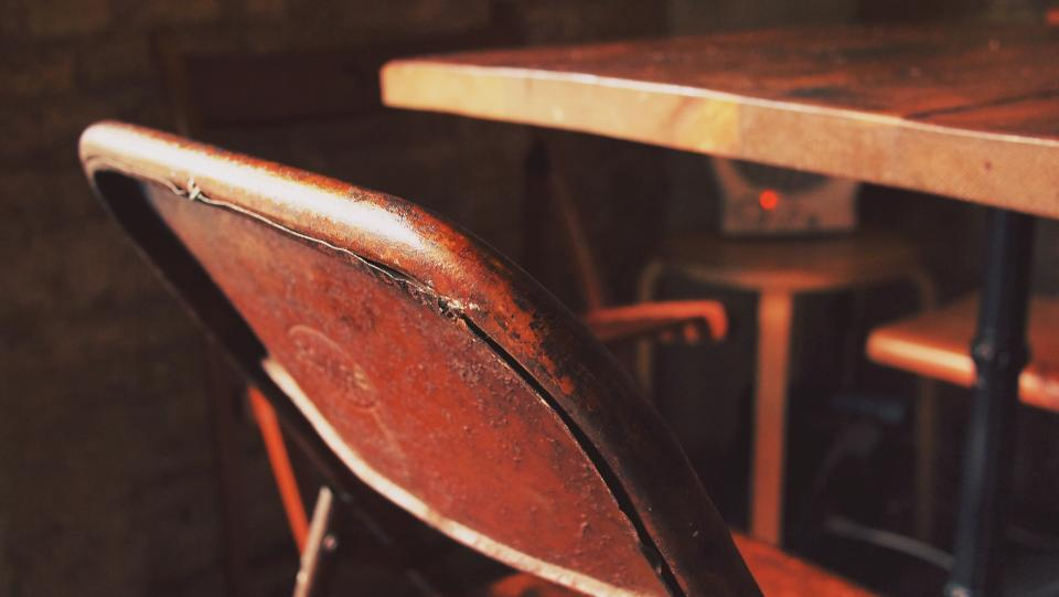 Free stock photo of chairs table