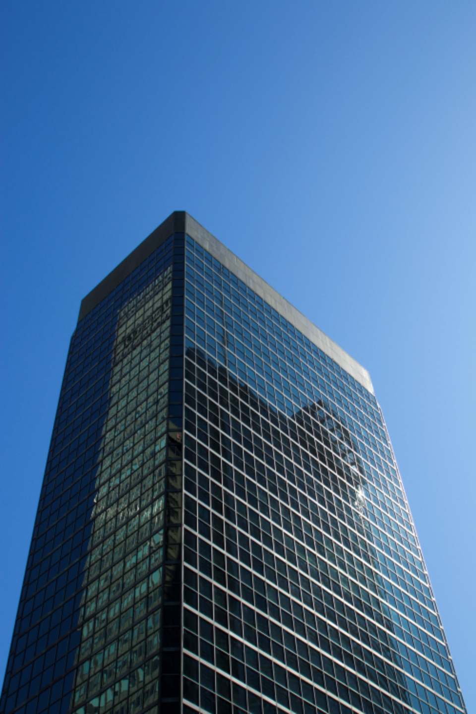 city building glass
