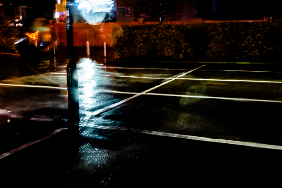 city street abstract