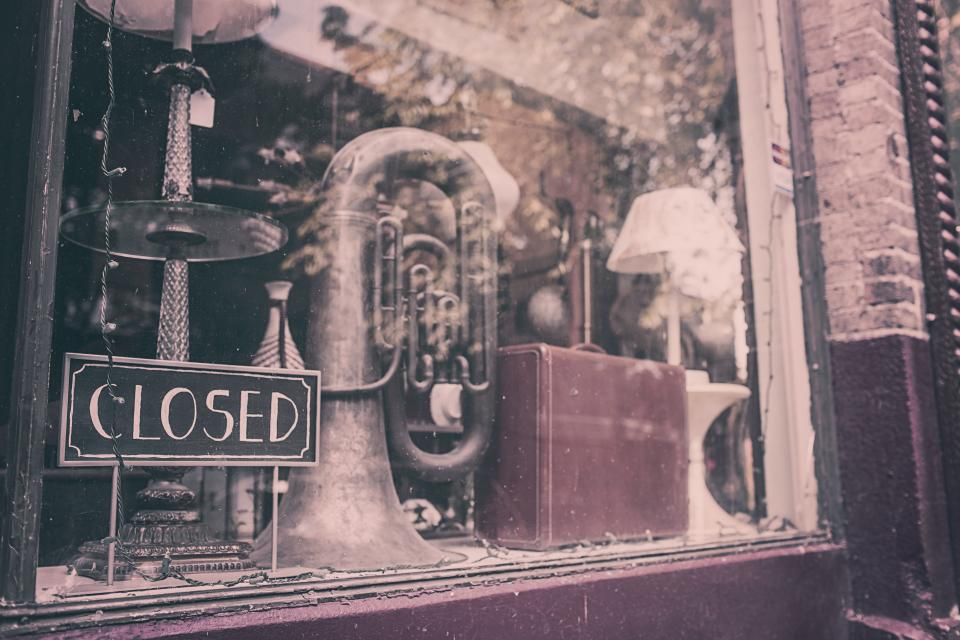closed store shop