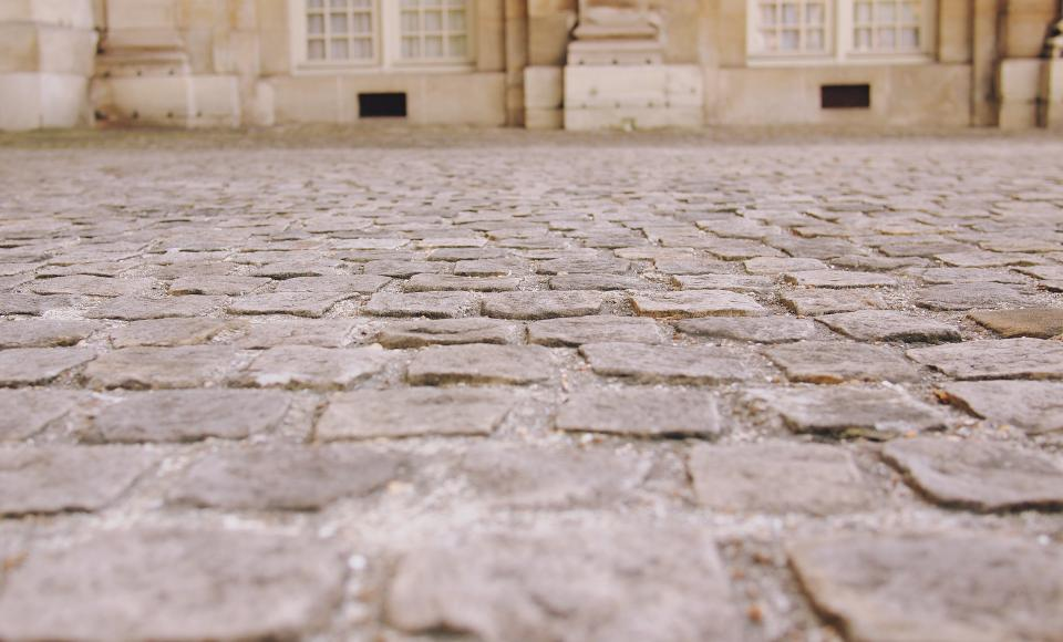 Free stock photo of cobblestone street