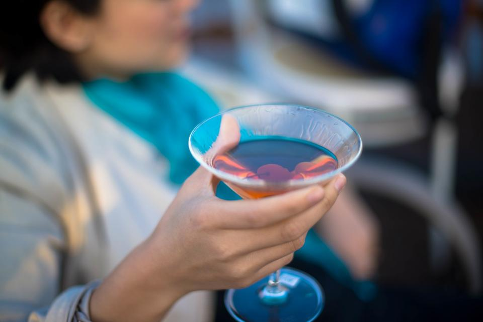 Free stock photo of cocktail blue