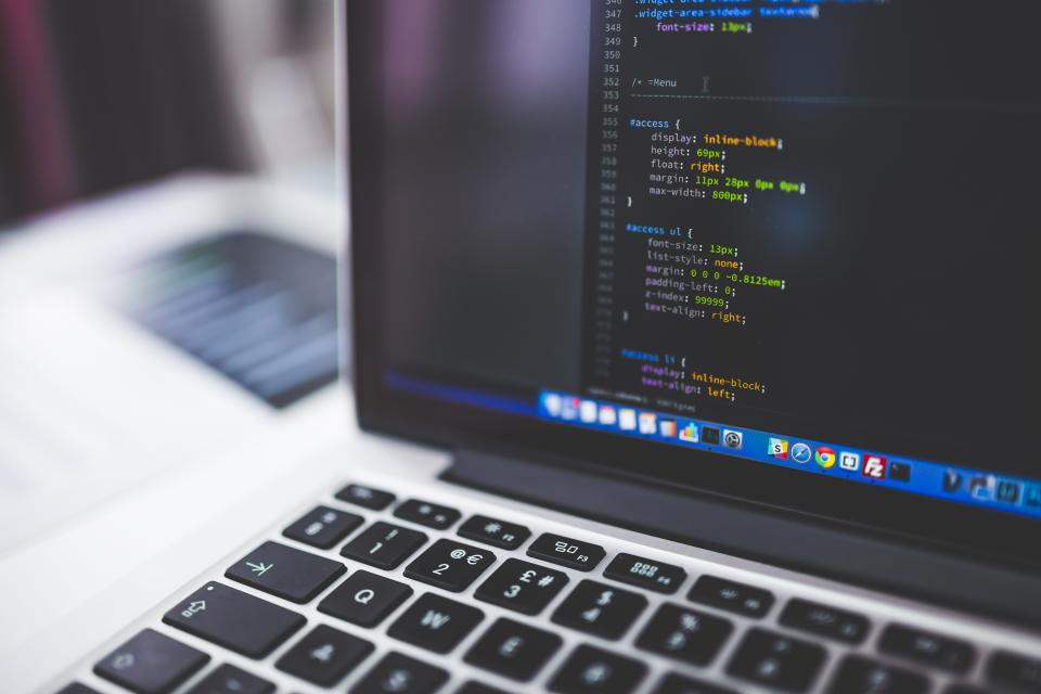 Free stock photo of code coding