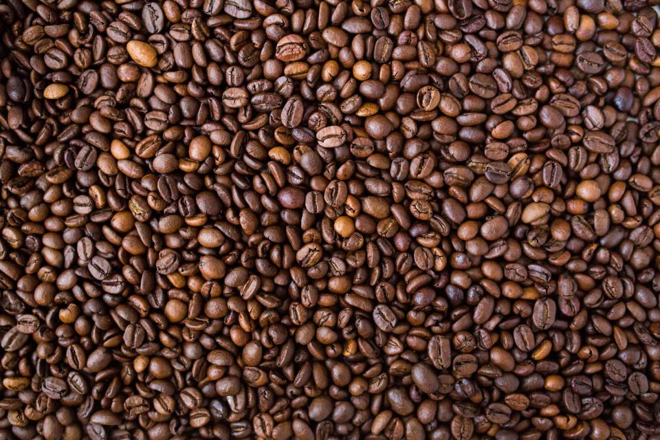 coffee beans food texture