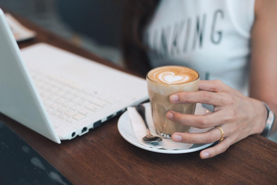 Free stock photo of coffee office