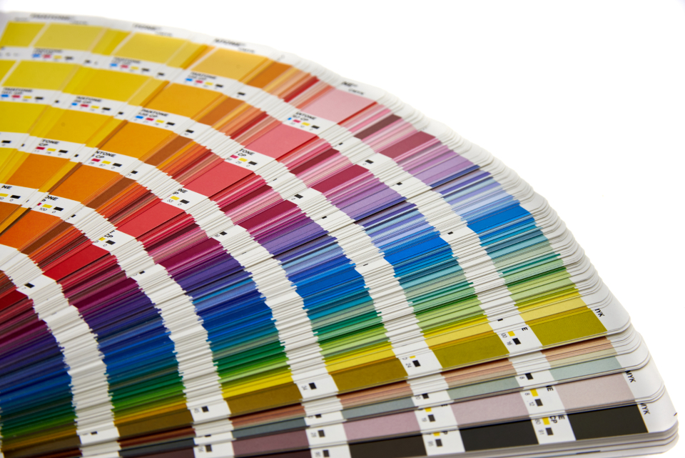 Free stock photo of color swatches