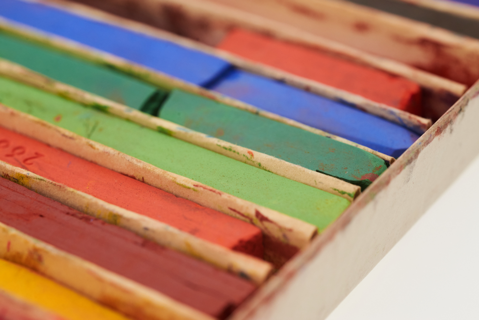 Free stock photo of colored pastels