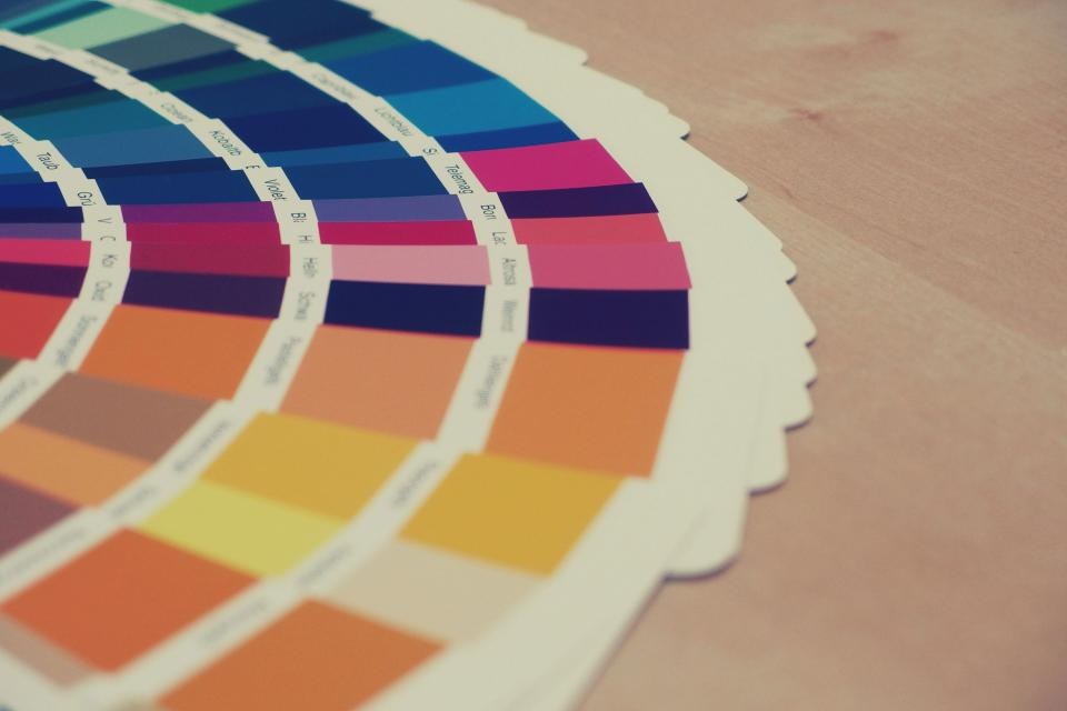 colors colours swatch