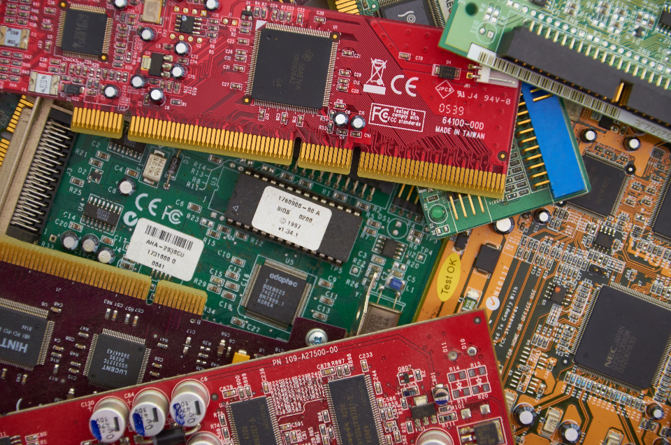 Free stock photo of computer board