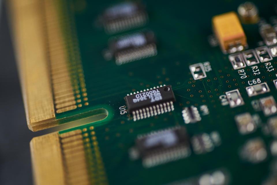 Free stock photo of computer chip
