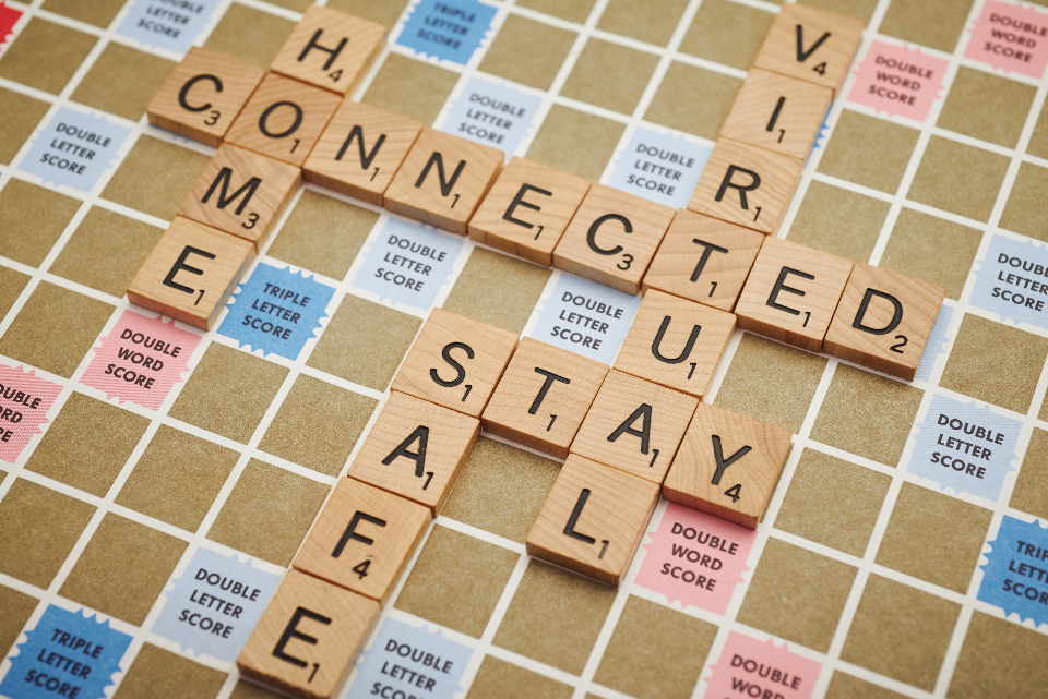 Free stock photo of connected typography
