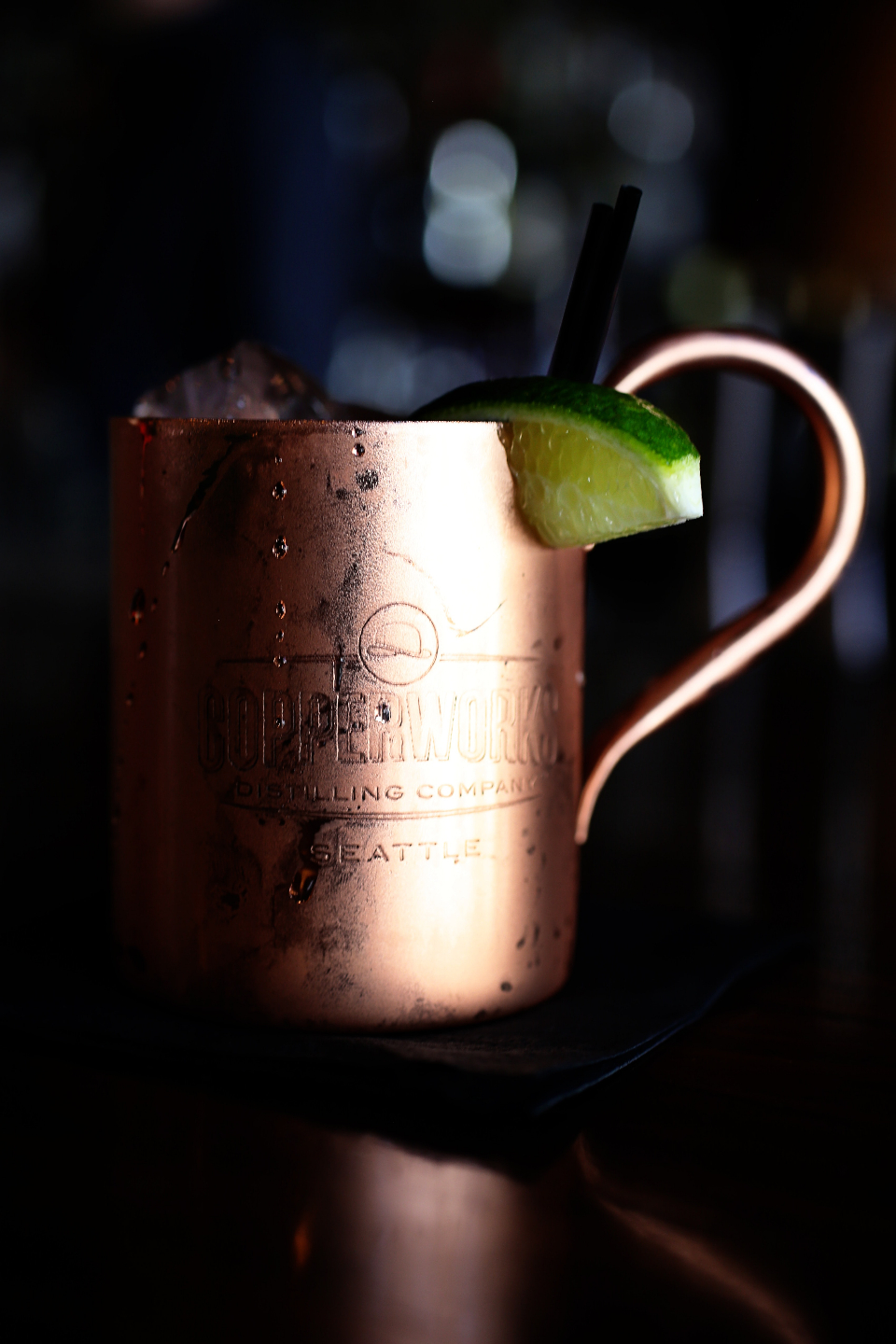 copper cup drink