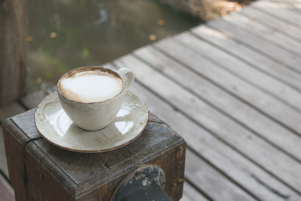 Free stock photo of cup capuccino