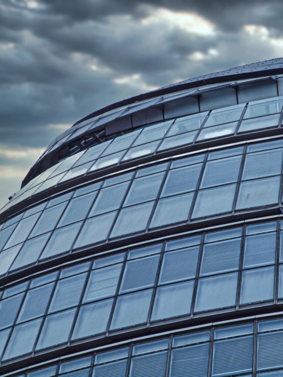 Free stock photo of curved building