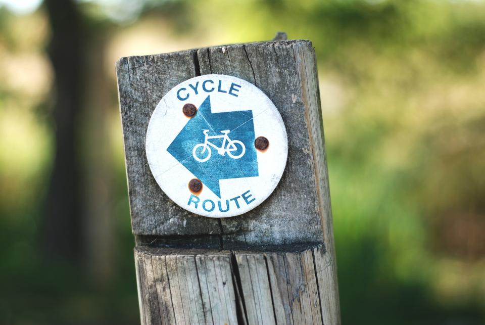 cycle route bicycle