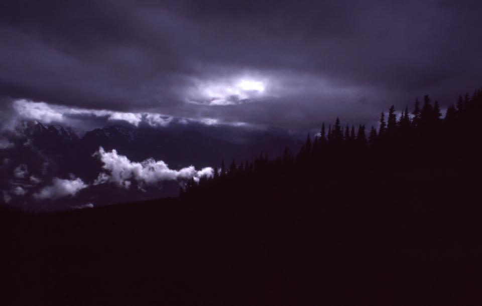 dark night clouds