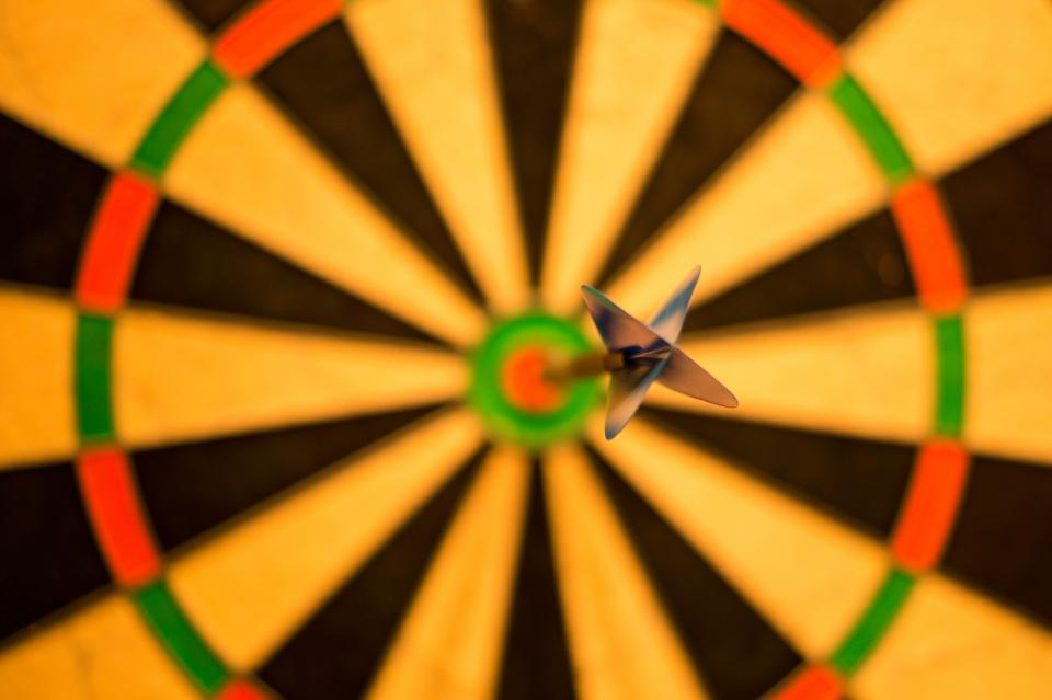 darts dart board bulls eye