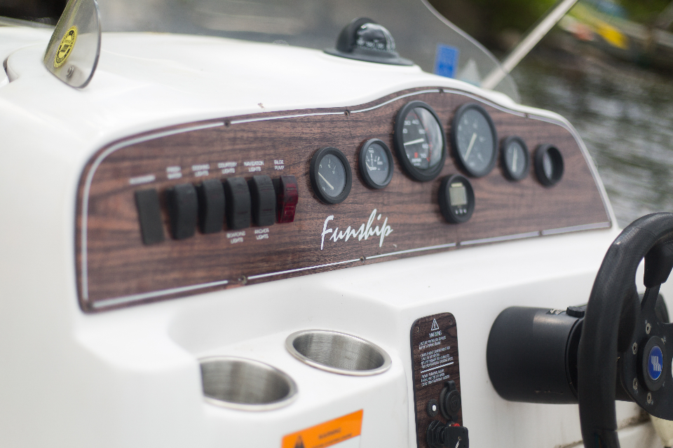 Free stock photo of dashboard boat