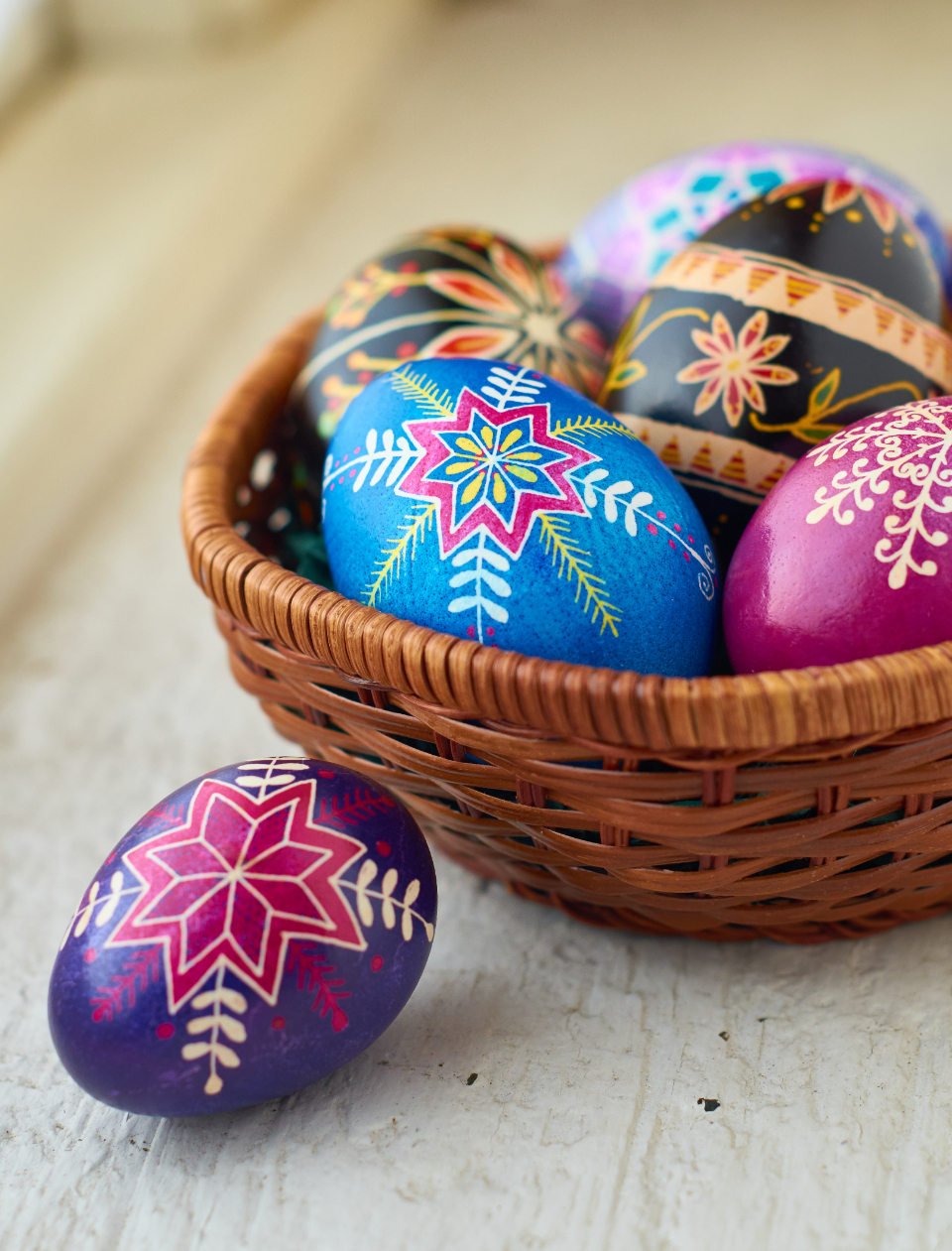 Free stock photo of decorative eggs
