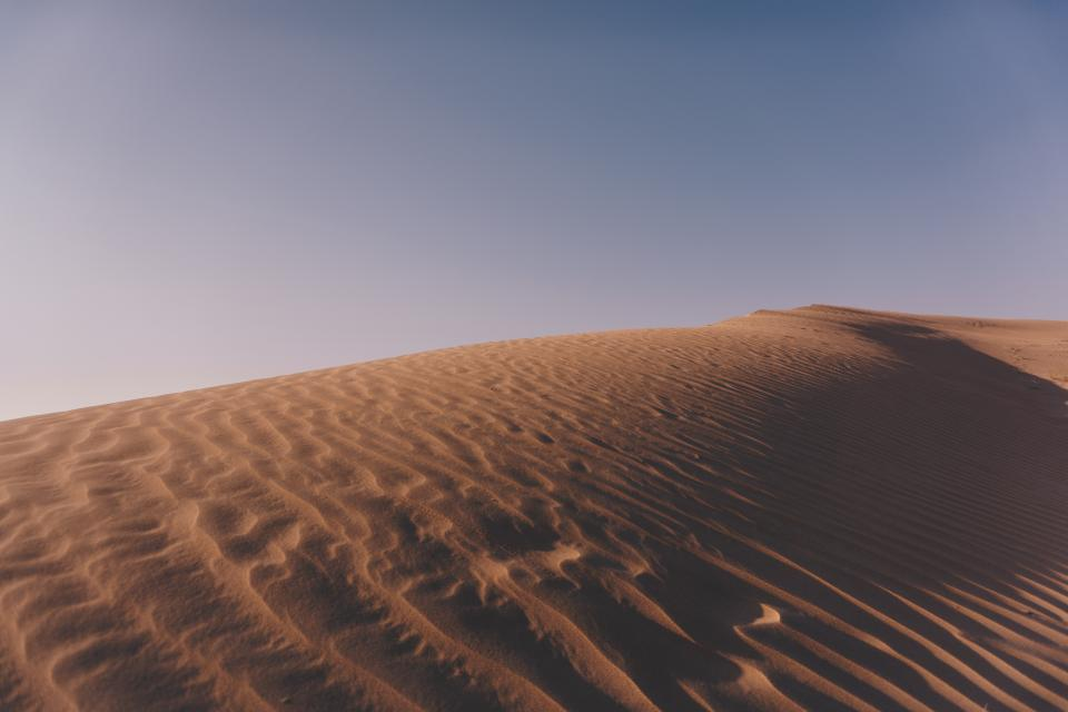 Free stock photo of desert landscape
