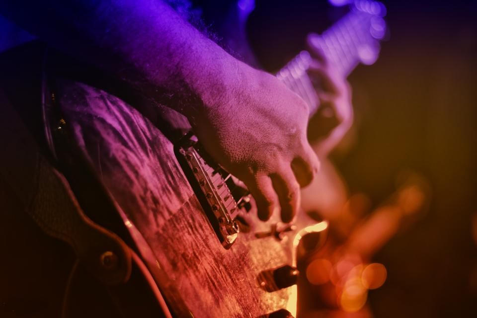 Free stock photo of electric guitar