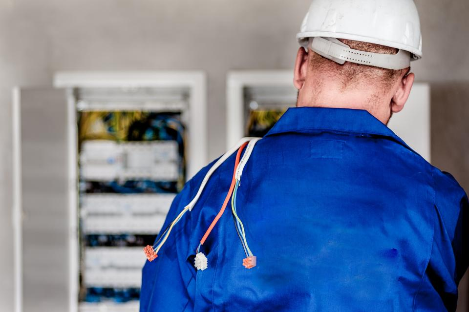 Free stock photo of electrician electricity