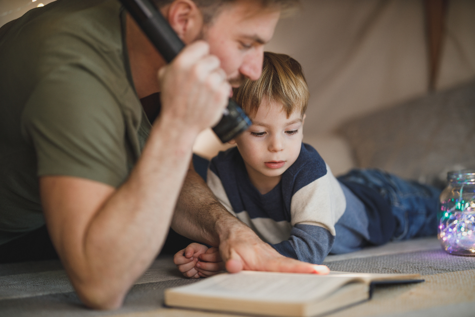 Free stock photo of father son