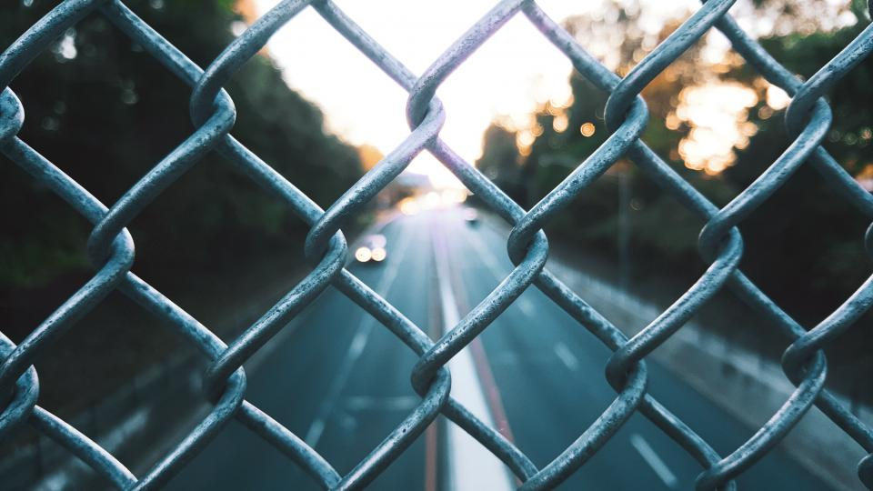 Free stock photo of fence steel