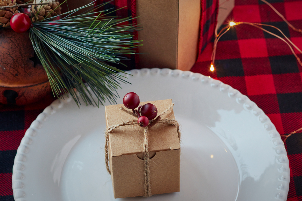 Free stock photo of festive table