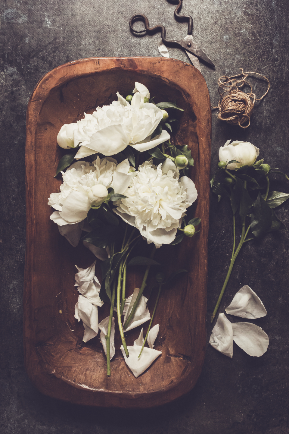 Free stock photo of flower table
