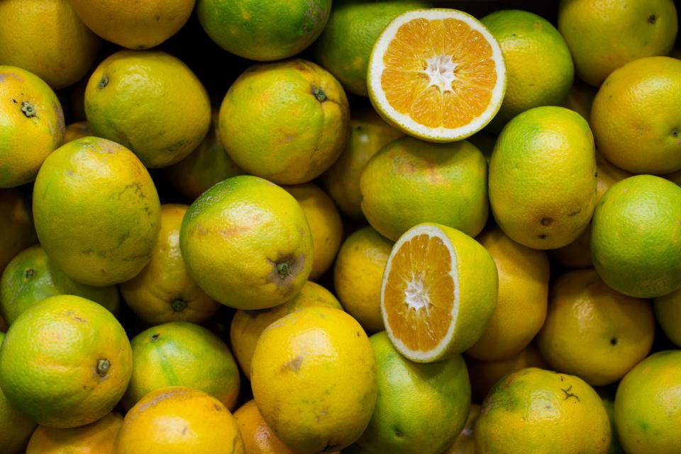 fruits citrus green