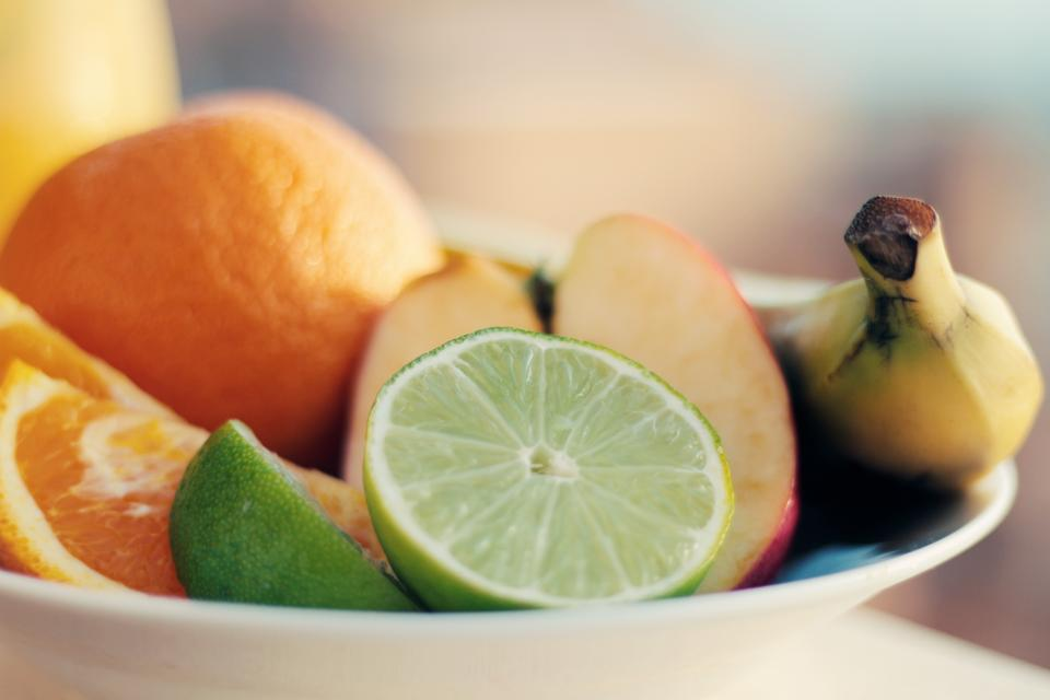 fruits oranges limes