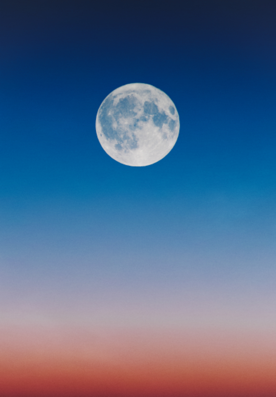 full moon dawn wallpaper