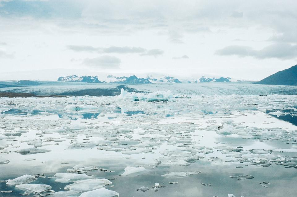Free stock photo of glacier ice