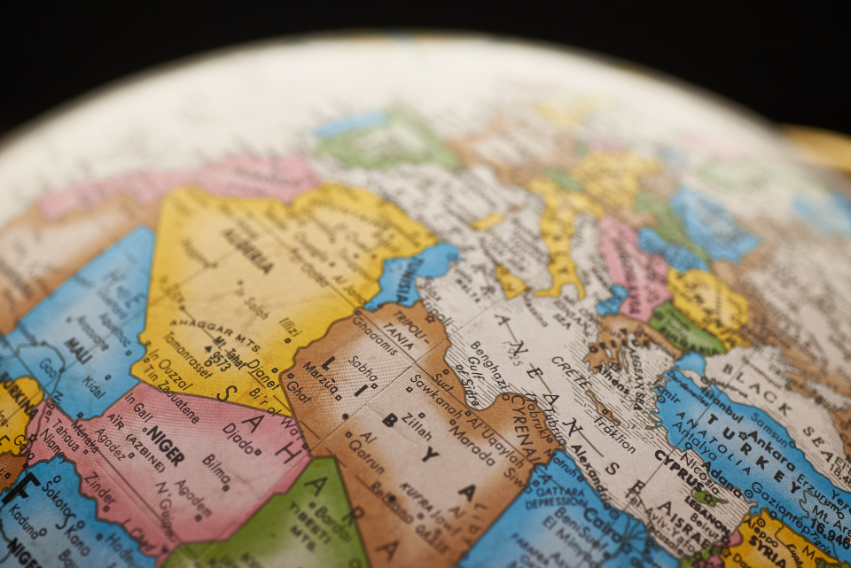 Free stock photo of global map