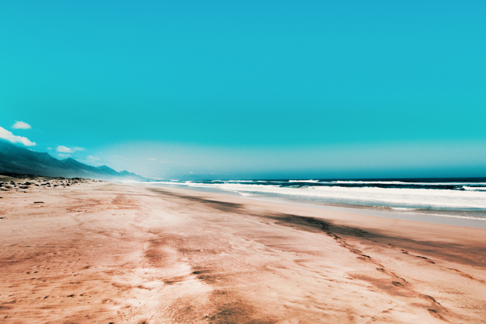 Free stock photo of golden sand