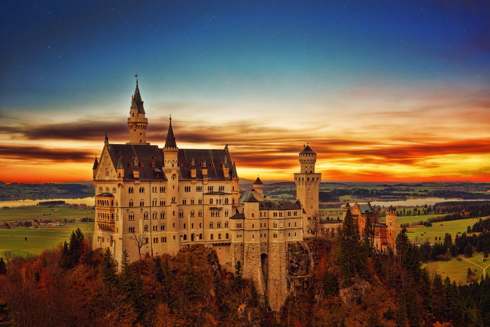 gothic castle germany