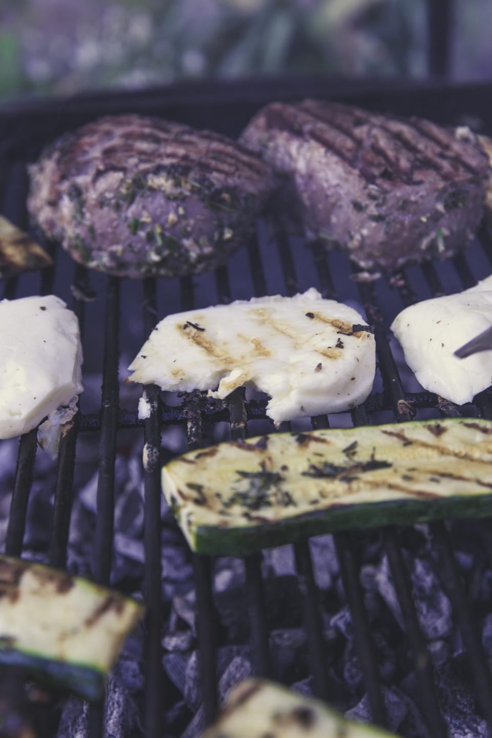 grilled food meat