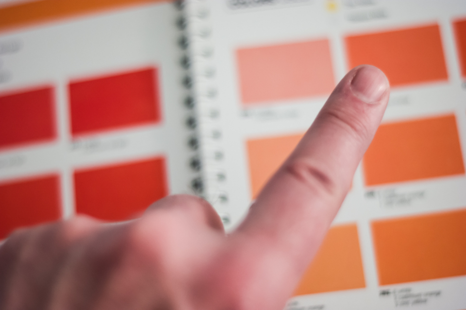 Free stock photo of hand selecting