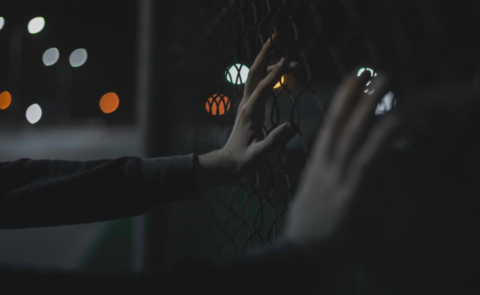 Free stock photo of hands bokeh