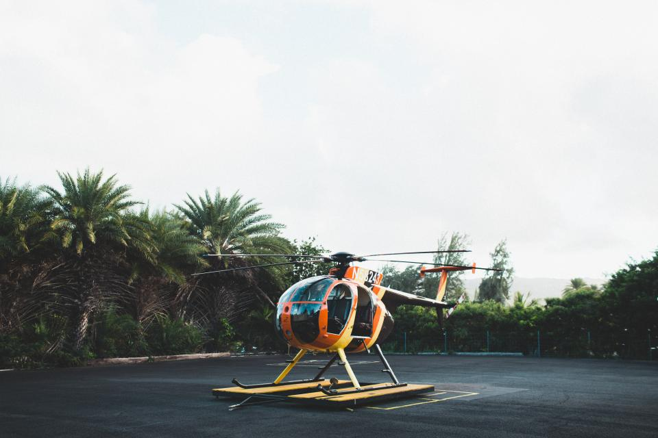 helicopter chopper transportation