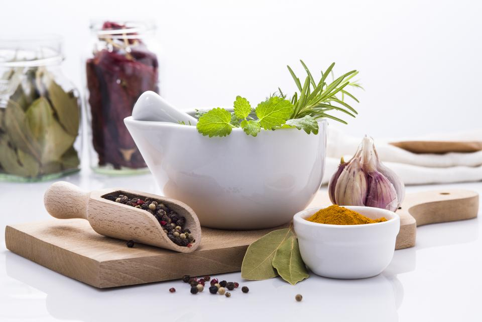 Free stock photo of herbs spices