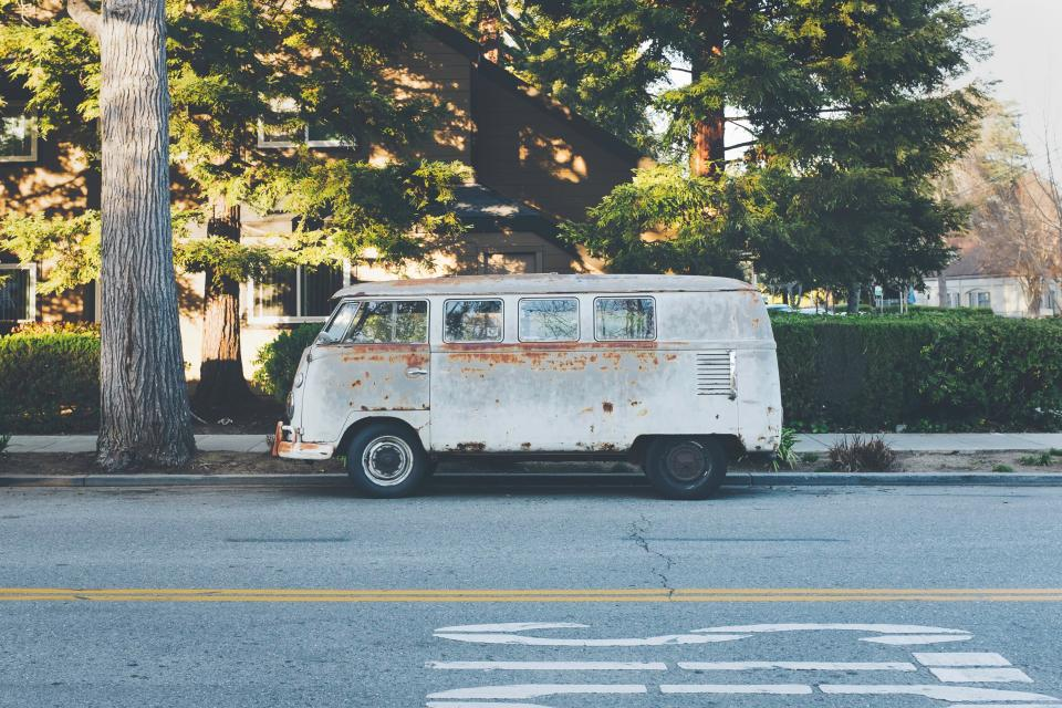 hippie van vehicle