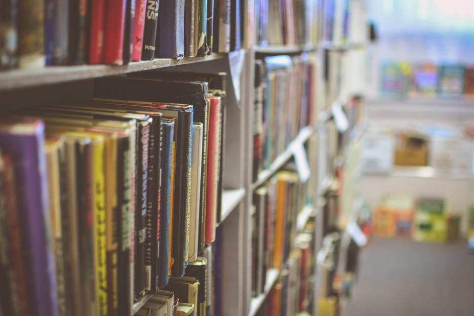 Free stock photo of library books
