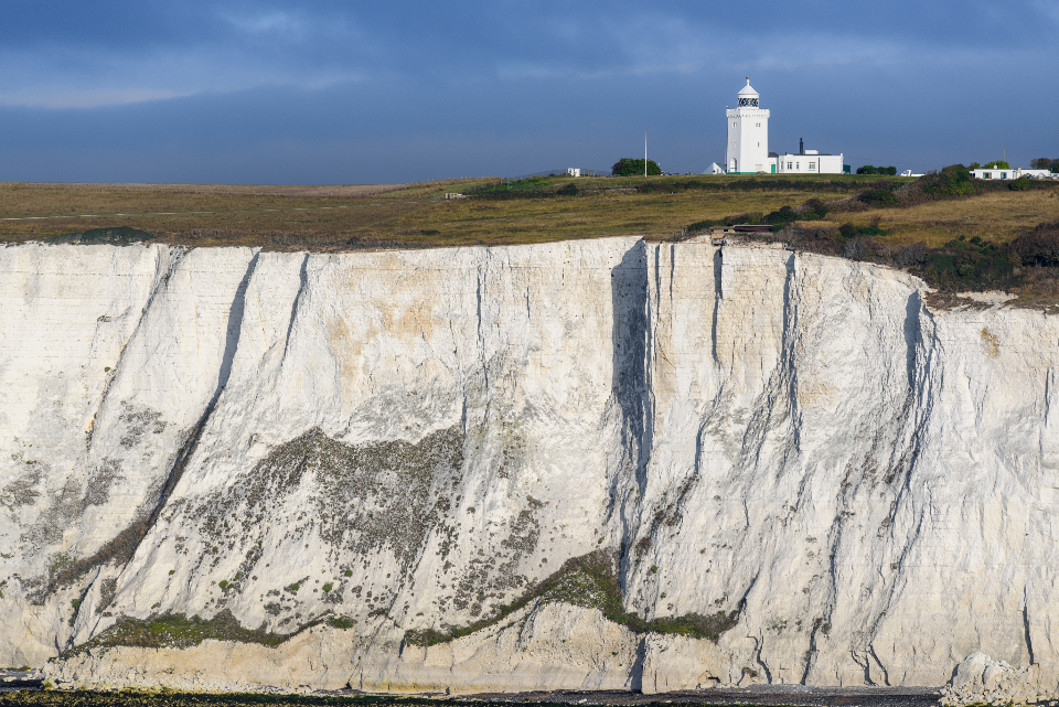 lighthouse cliff landscape