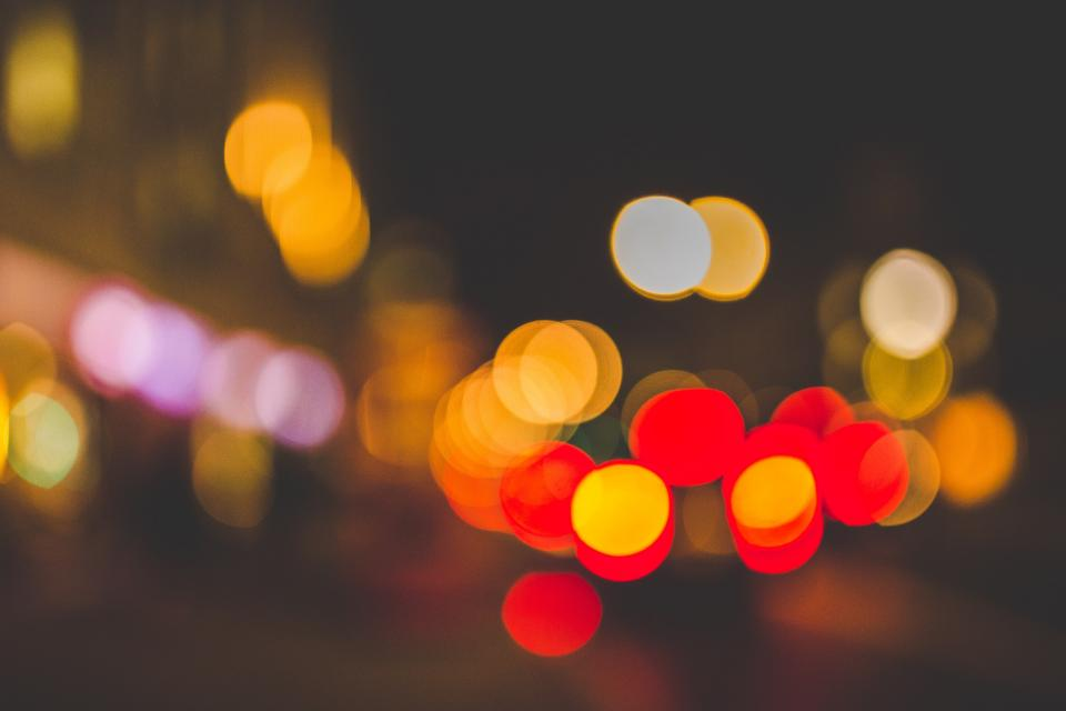 Free stock photo of lights night